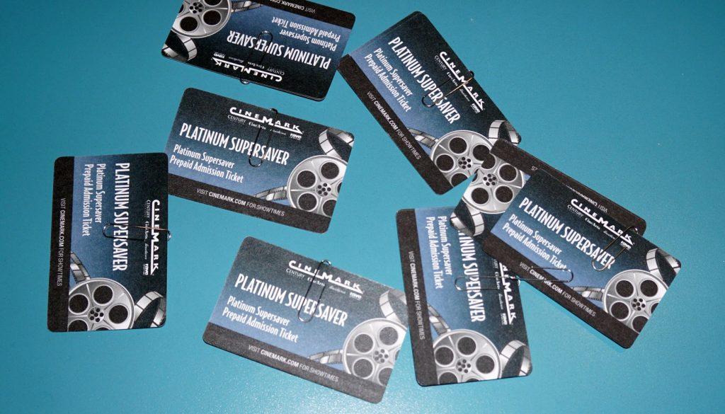 Movie Tickets - Client Appreciation Event
